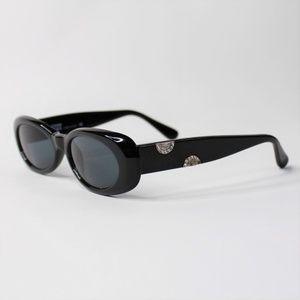 Vintage Gianni Versace MOD 248 H Black Sunglasses